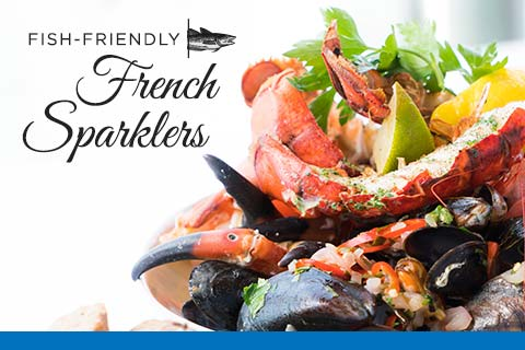 Friendly with Fish - French Sparkling wines   WineMadeEasy.com