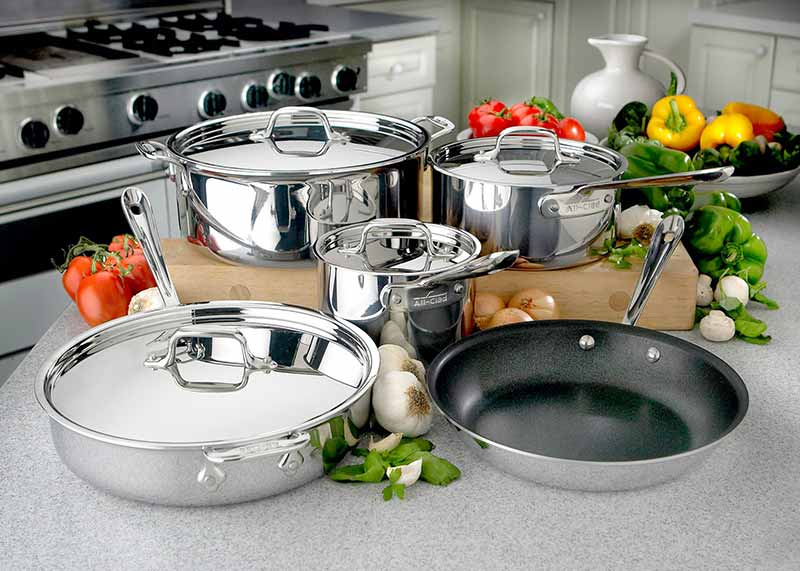 Browse All-Clad Cookware at Premier Gourmet