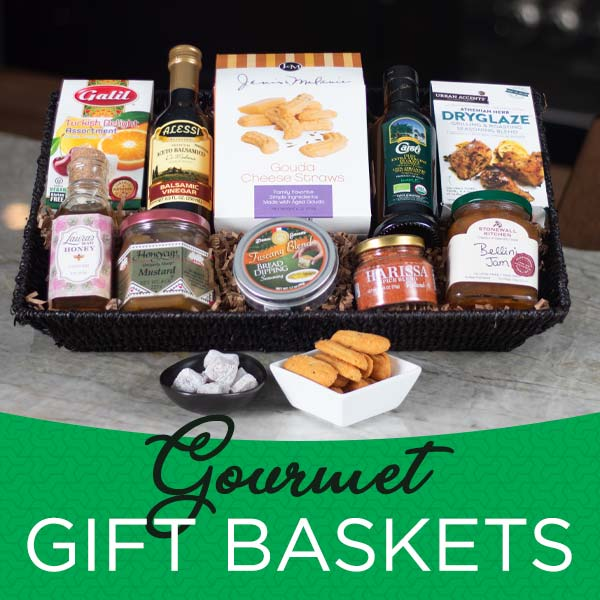 Gift Baskets at Premier Gourmet