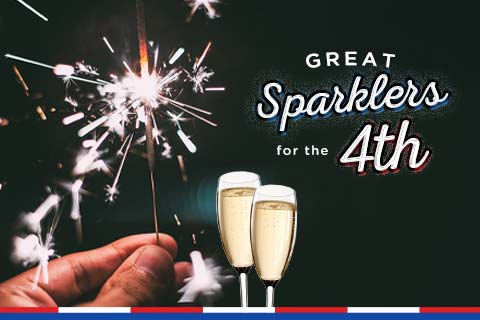 Great Sparklers for your Fourth! | WineTransit.com