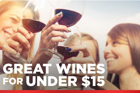 Great Wines for Under $15 | WineDeals.com
