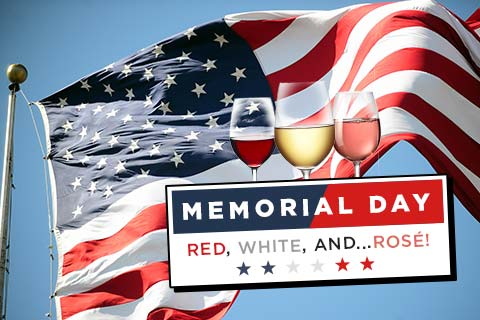 For Memorial Day: Red, White and ... Rose!   WineMadeEasy.com
