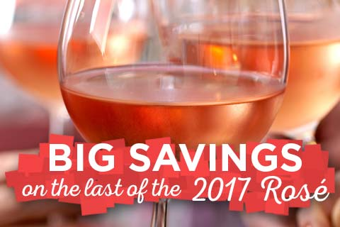 Save Big on the last of '17 Rose! | WineDeals.com