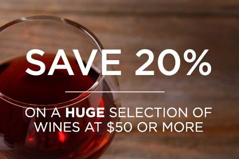 Save 20% on Wines $50 or more | WineMadeEasy.com