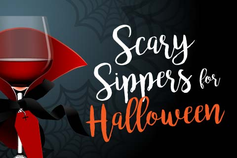 Scary Sippers for Halloween | WineMadeEasy.com