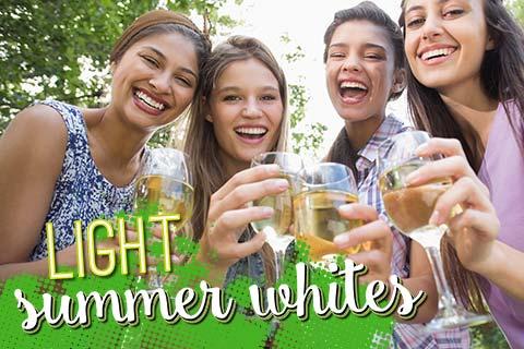 Light Summer Whites for Hot Days   WineDeals.com