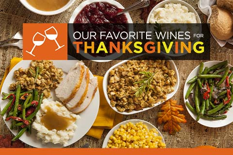 Our Favorite Wines for Thanksgiving | WineTransit.com