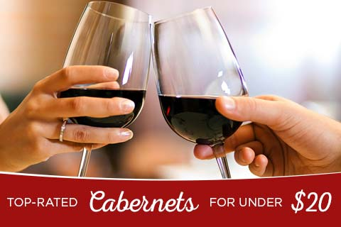 Top-Rated Cabernets for under $20 | WineDeals.com