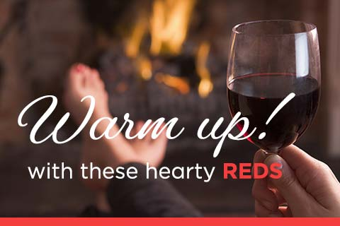 Warm Up with Hearty Reds | WineDeals.com