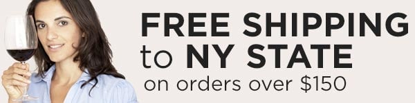 Special Offer: Get FREE Shipping within New York State on orders over $150!
