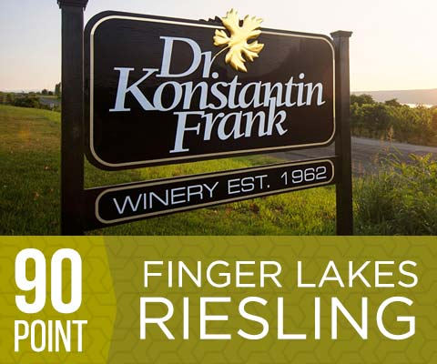 Dr. Konstantin Frank - 90 point Finger Lakes Rieslings! | WineMadeEasy.com