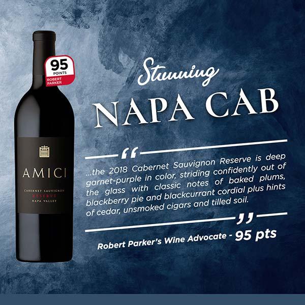 Stunning 95-point Napa Cab