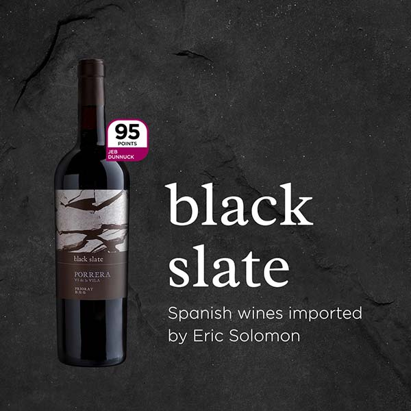 The wines of Black Slate