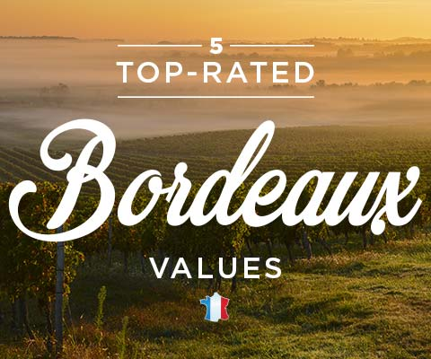 Five Top-Rated Bordeaux Values | WineMadeEasy.com