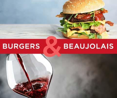 Burgers & Beaujolais   WineTransit.com
