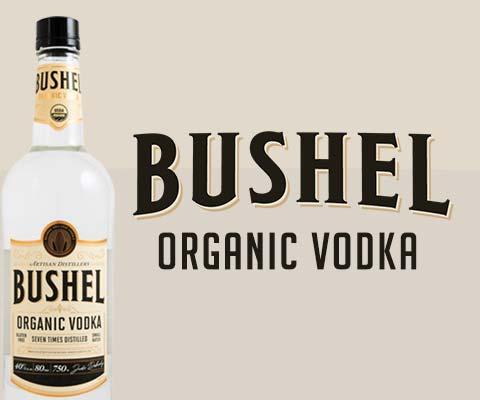 Bushel Organic Vodka  - The Spirit of the Heartland | WineTransit.com