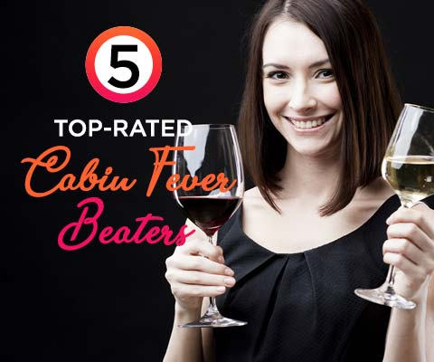 Five Highly-Rated Cabin-Fever Beaters | WineMadeEasy.com