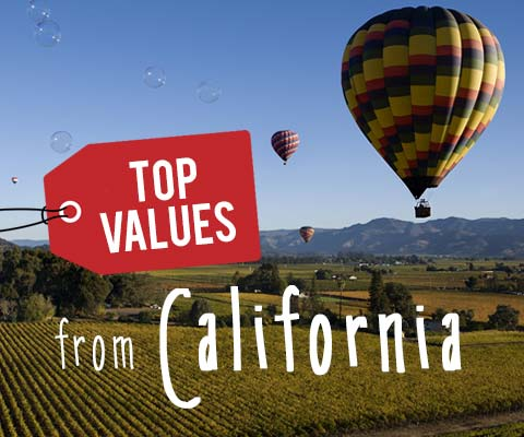 Top Values from California | WineDeals.com