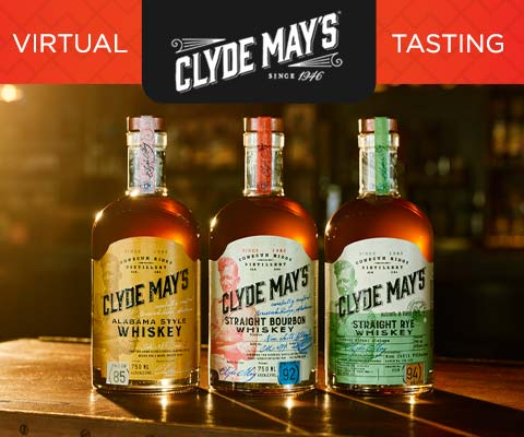 Clyde May's Whiskey Virtual Testing | WineMadeEasy.com