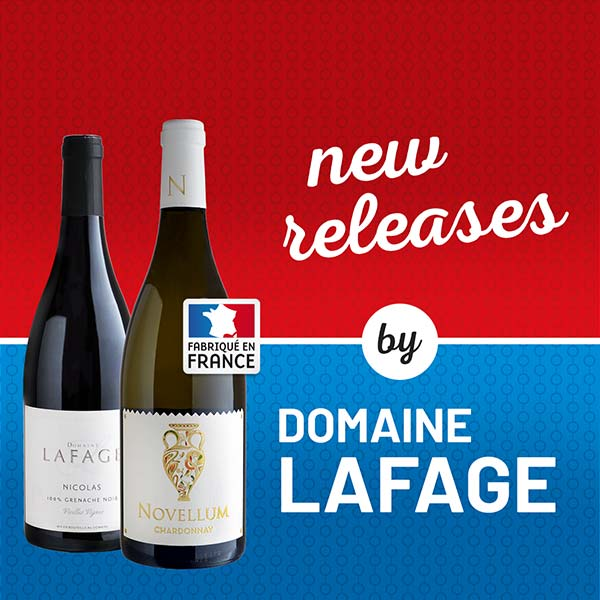New releases by Domaine Lafage only $14.99