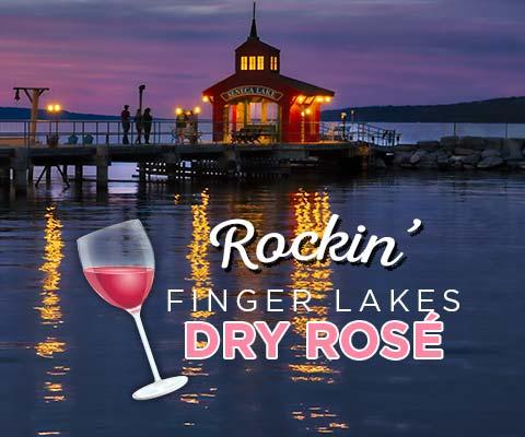 Rockin' Finger Lakes Dry Rosé | WineMadeEasy.com