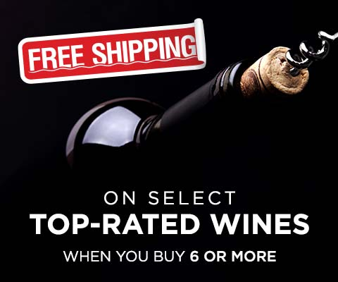 Free Shipping on Top-Rated Wines when You Buy 6+ | WineDeals.com
