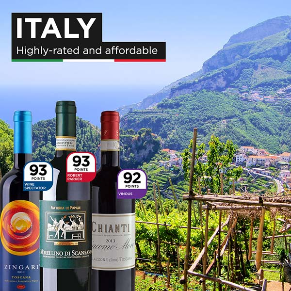 Italy: Highly-Rated and Affordable