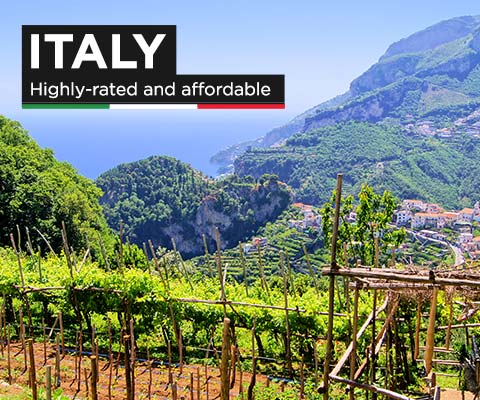 Italy: Highly-Rated and Affordable | WineTransit.com