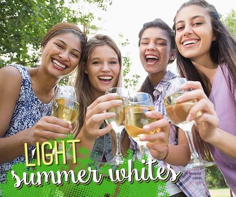 Light Summer Whites for Hot Days | WineDeals.com