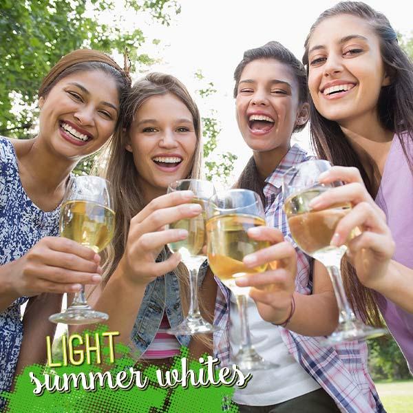 Light Summer Whites for Hot Days