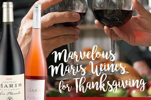 Marvelous Maris WInes for Thanksgiving | WineTransit.com