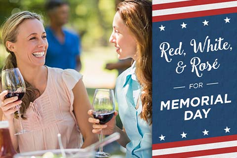 For Memorial Day: Red, White and ... Rose! | WineTransit.com