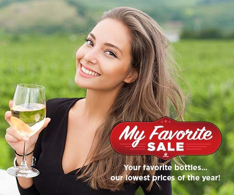 My Favorite Sale at Premier: Your favorite wines and spirits, our lowest prices of the year!