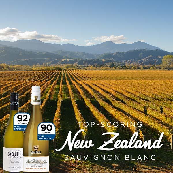 Top-Scoring New Zealand Sauvignon Blancs