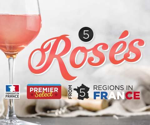 Five Premier Select Rosés from France | WineMadeEasy.com