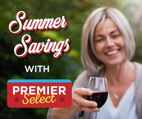 Summer Savings with Premier Select! | WineTransit.com