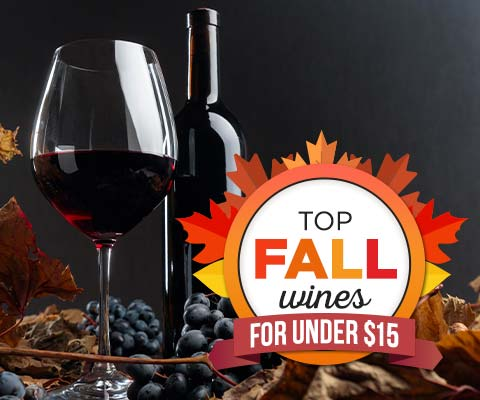 top wines for fall under 15 | WineDeals.com