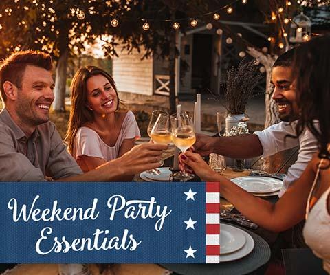 Memorial Day Weekend Party Essentials    WineDeals.com