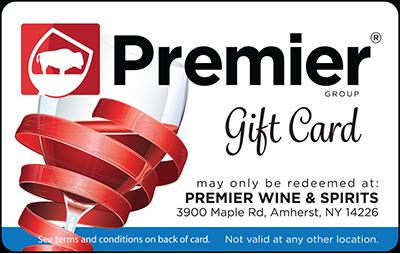 Premier Wine & Spirits Gift Cards